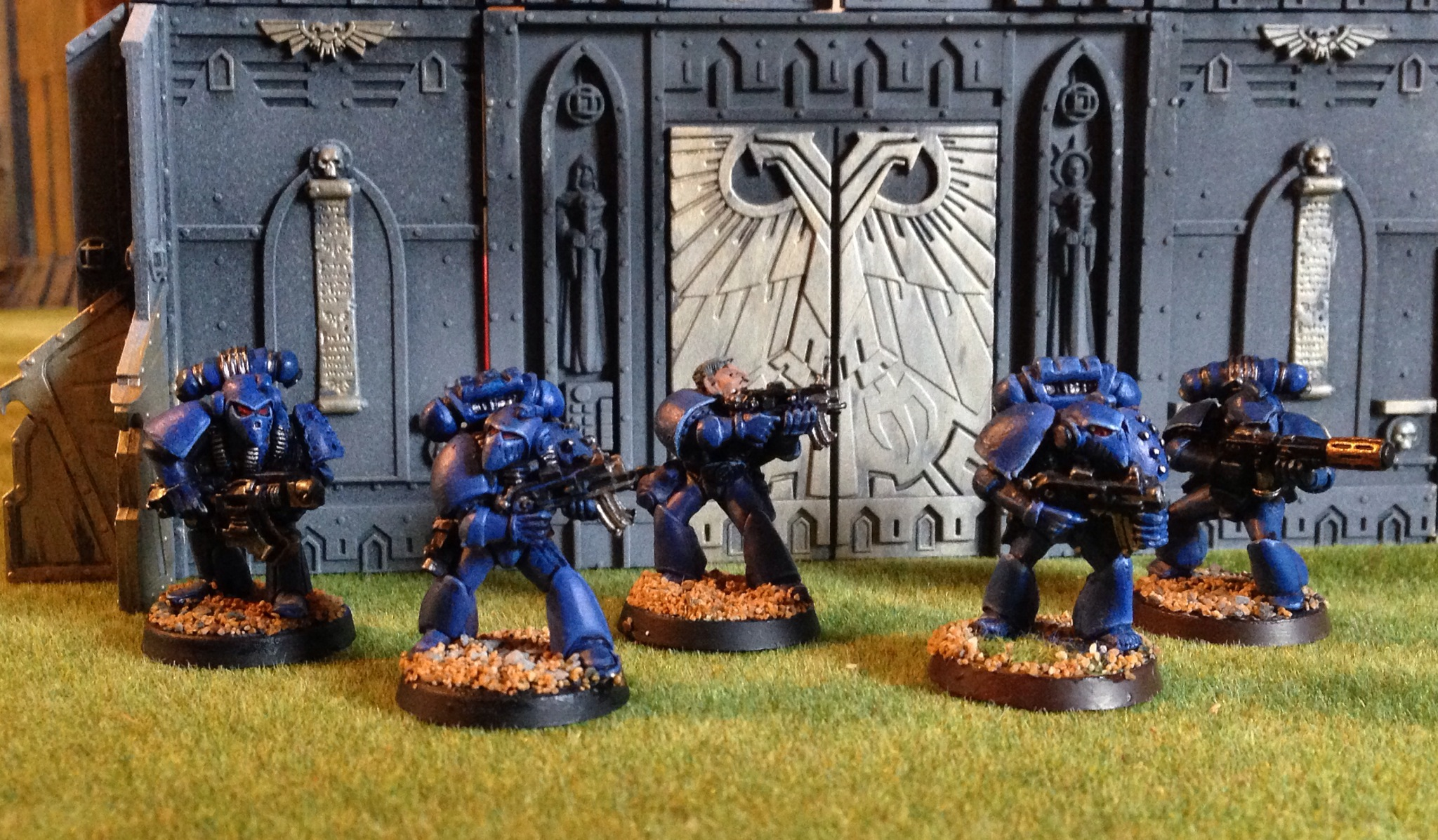 Rogue trader space marines