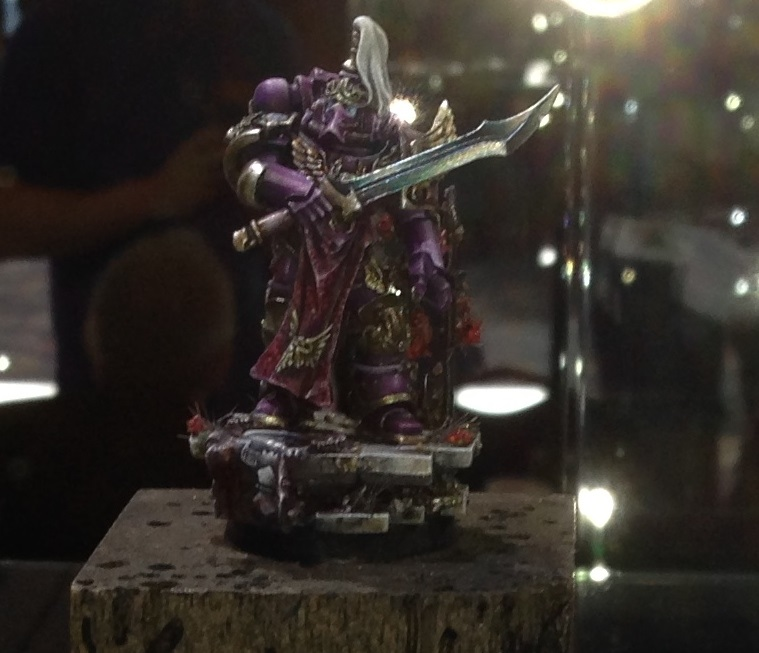 Empororer's Children Champion 40k Single Miniature Golden Demon 2014