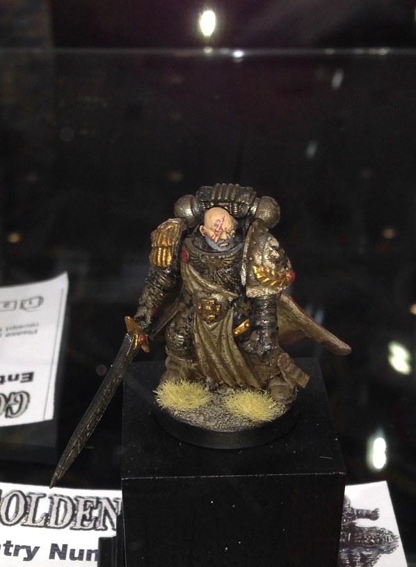 Black Templars Captain Krom Dragongaze 40k Single Miniature Golden Demon 2014
