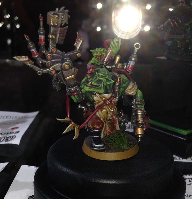 Ork Pain boy 40k Single Miniature Golden Demon 2014