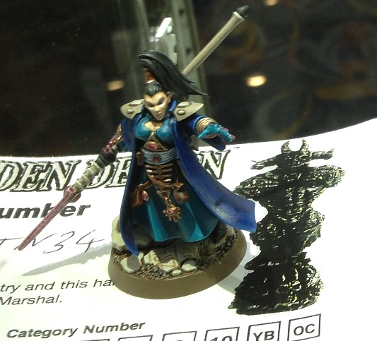 Eldar Farseer 40k Single Miniature Golden Demon 2014