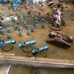 Warhammer Fest 2014 – Forgeworld Alpha Legion vs Cult Mechanicum on Mars Video