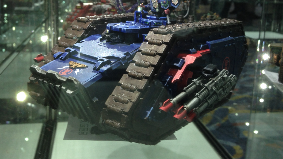 Crimson Fist Spartan Assault Tank - Golden Demon 2014