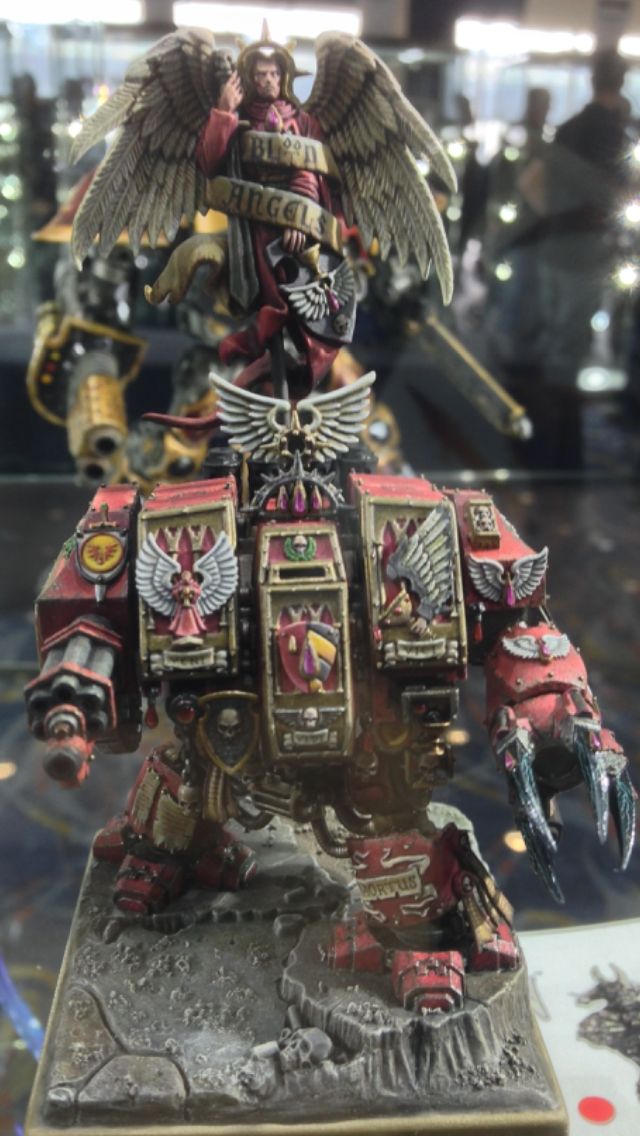 Blood Angel Dreadnought  - Golden Demon 2014