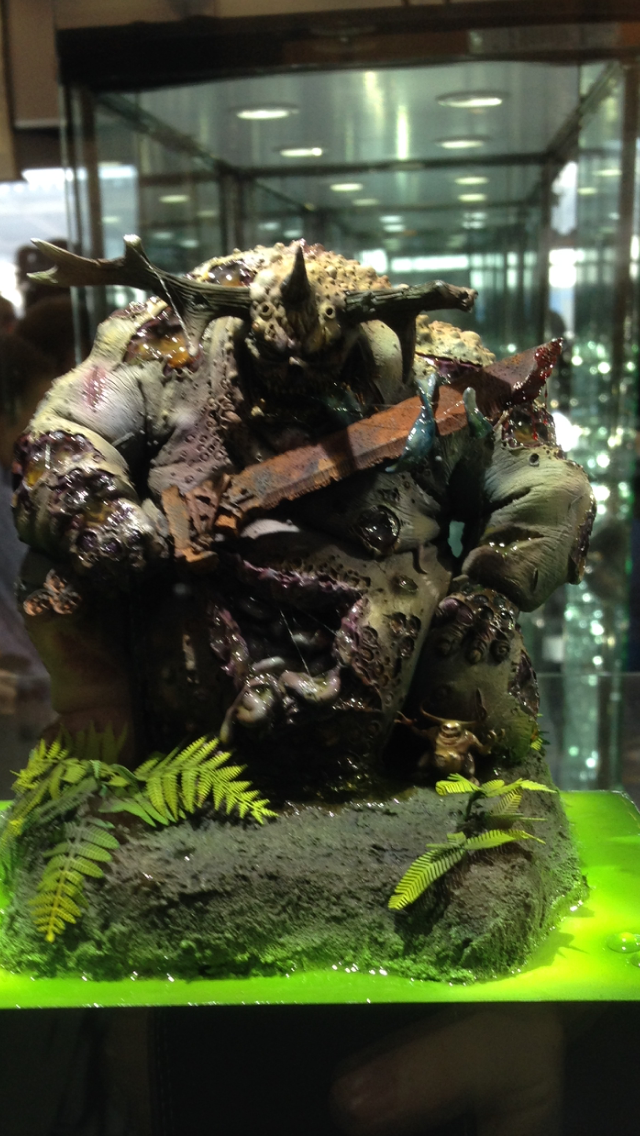 Greater Demon of Nurgle - Golden Demon 2014