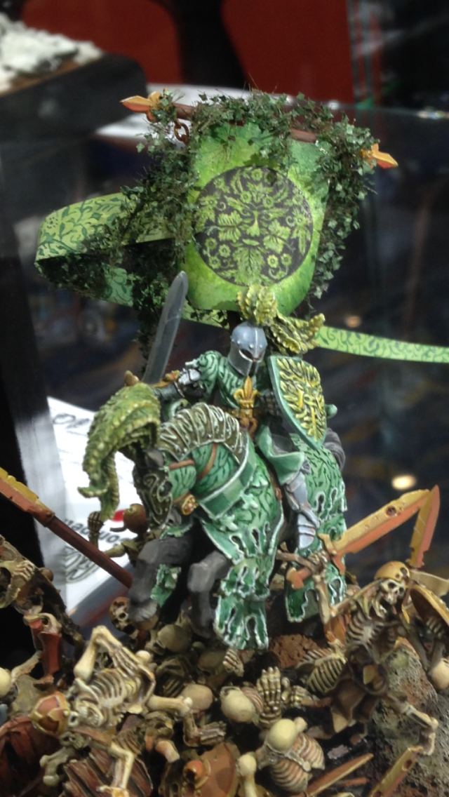 The Green Knight - Golden Demon 2014