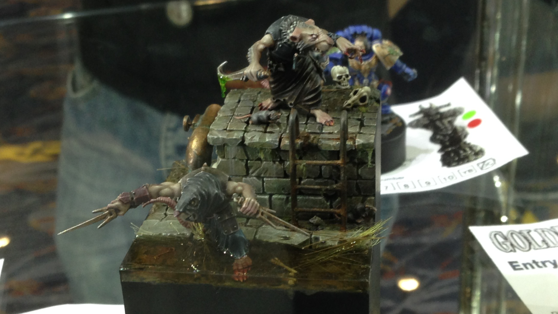Skaven Clan Rat - Open Competition Golden Demon 2014