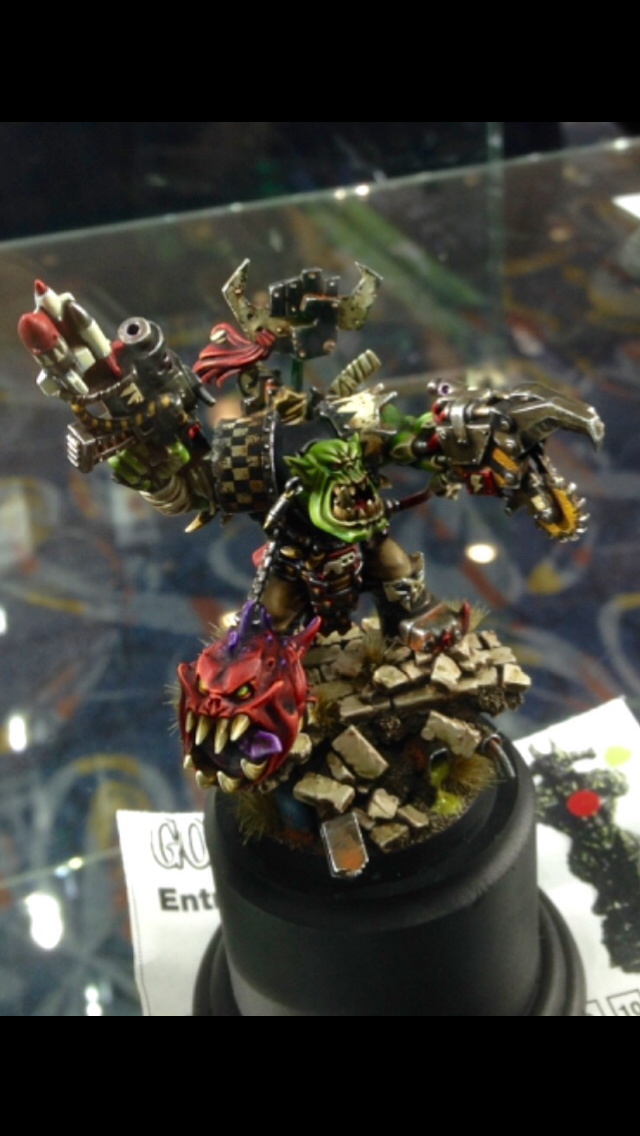 Ork Warboss - 40k Monsteress Creature Golden Demon 2014