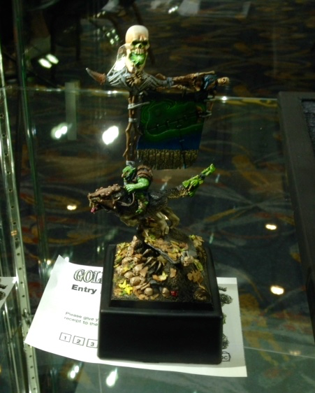 Goblin Rider - Open Competition Golden Demon 2014