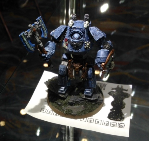 Space Wolves Contemptor Dreadnought - Open Competition Golden Demon 2014