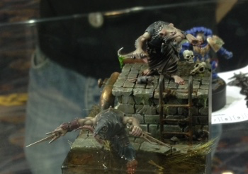 Skaven Clan Rats  - Open Competition Golden Demon 2014