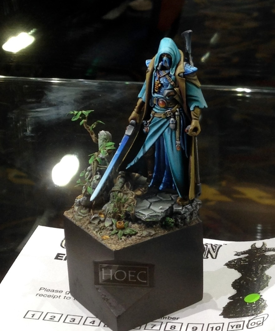 Eldar Assassin - Open Competition Golden Demon 2014