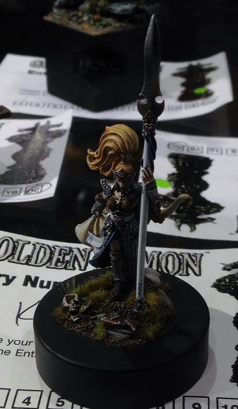 High Elf  - Open Competition Golden Demon 2014