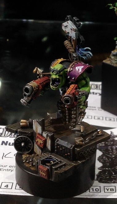 Ork Feebooter - Open Competition Golden Demon 2014