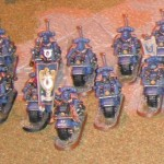 Ultramarine Bike Company at GamesDay 2012