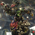 Golden Demon Monstrous Creature – Ork Warlord