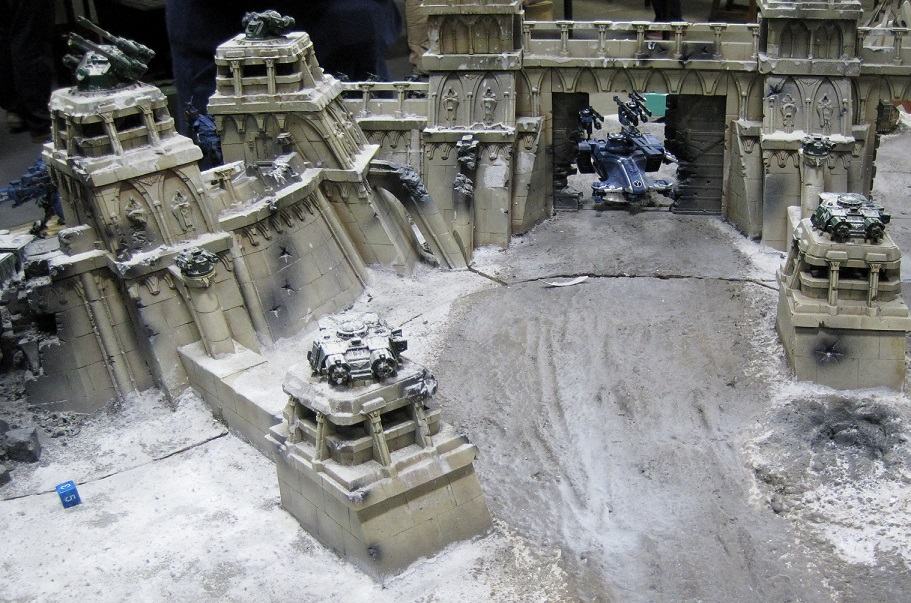 Fort Pain Tau Warhammer World
