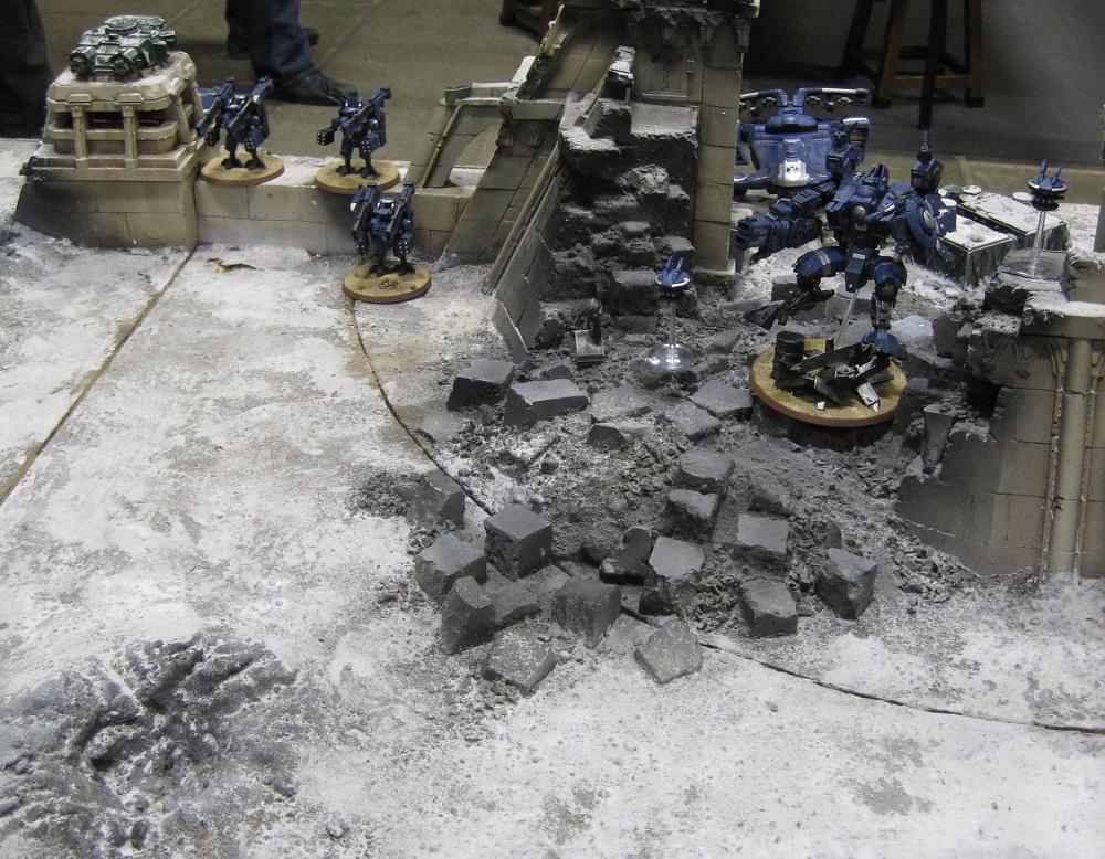 Fort Pain Tau Warhammer World