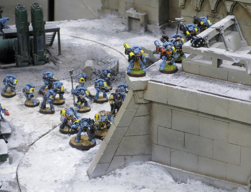 Fort Pain Spave Wolves vs Tau Warhammer World