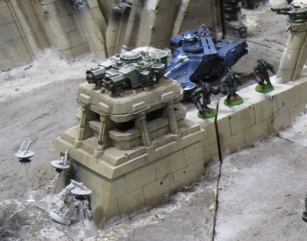 Fort Pain Tau, Warhammer World