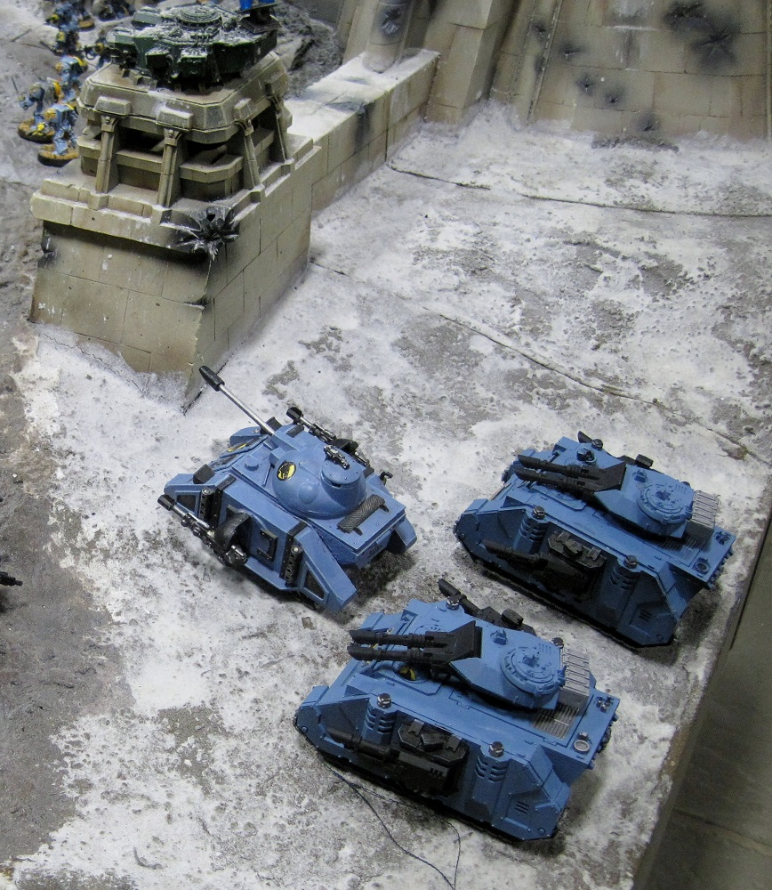 Fort Pain Spave Wolves vs Tau, Warhammer World