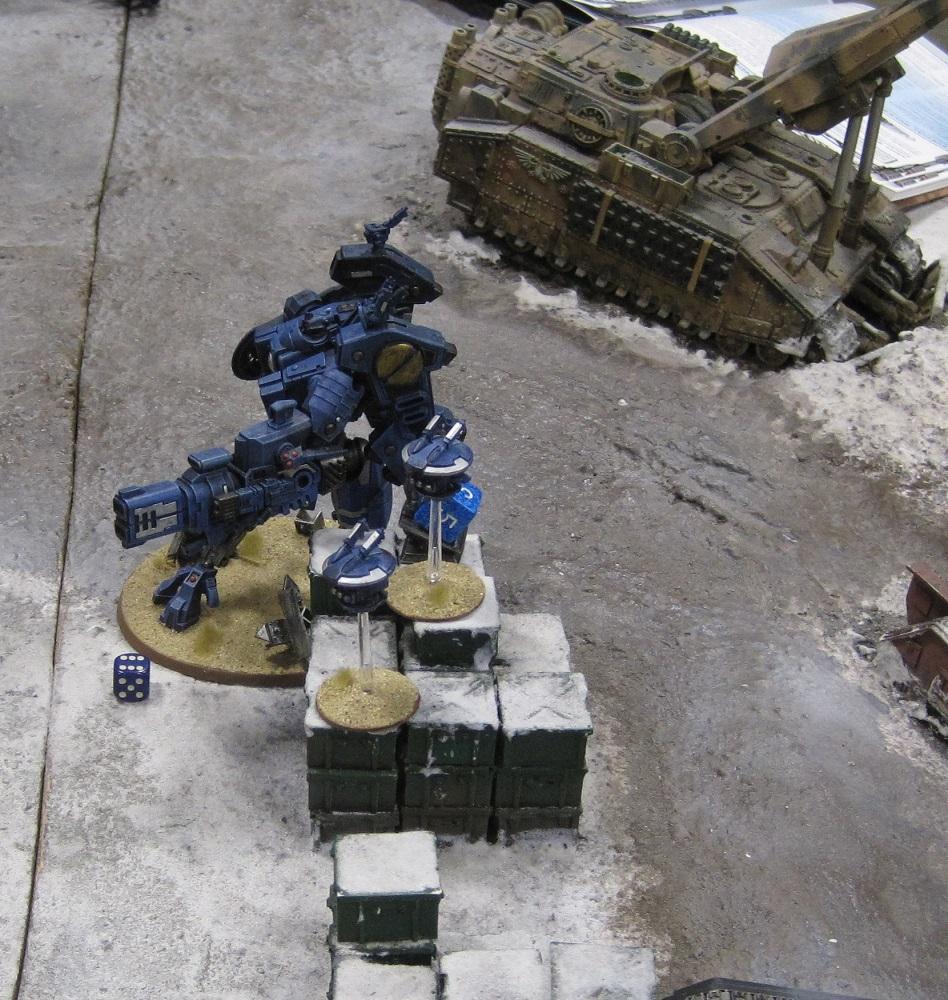 Fort Pain, Tau, Warhammer World