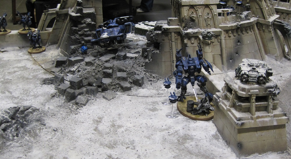 Fort Pain, Tau, Warhammer World