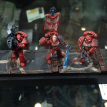 Blood Angels at Golden Demon 2014