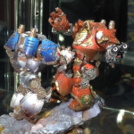 Contemptor Dreadnoughts at Golden Demon 2014