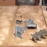 D.I.Y. 40k Desert Battle War Game Table using Sand