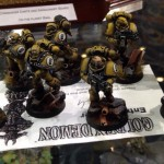 Golden Demon 2014 – Space Marine Squads
