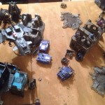 Battle Pictures – Emperor's Children vs Ultramarines Legion
