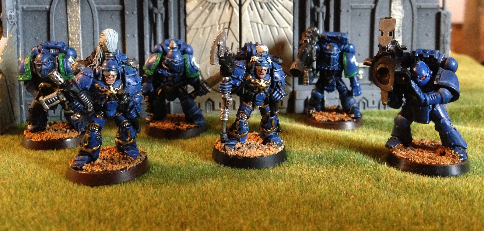 mki mkii and mkiii space marines