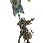Sisters of Battle With Blessed Banner