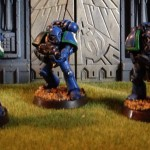Plastic Mk4 Space Marines are not from Forge World