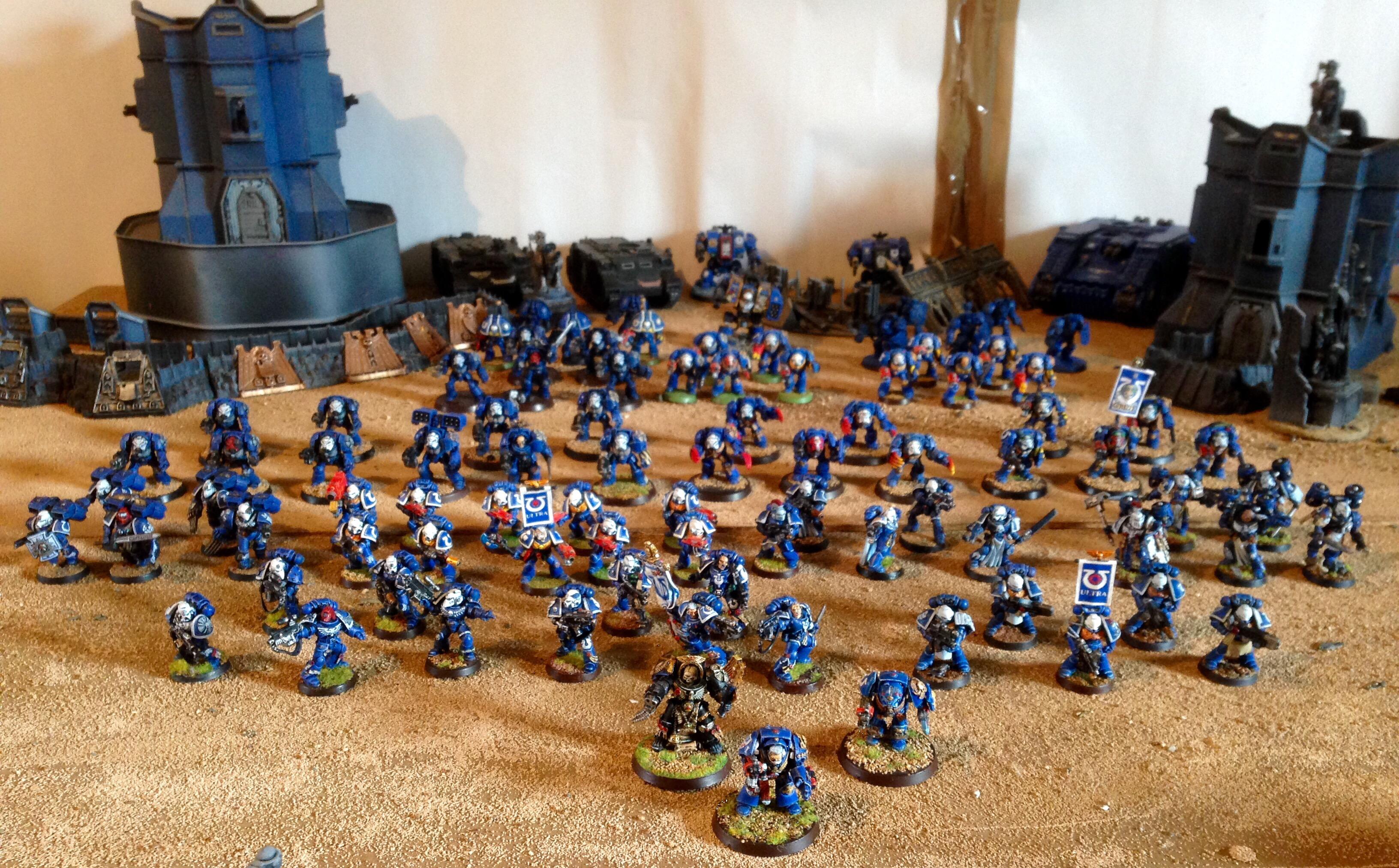 Ultramarine First Company army