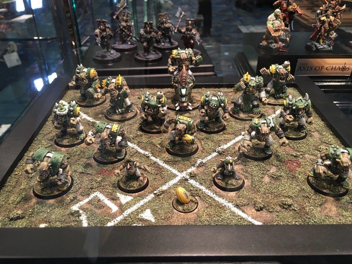 Ork Blood Bowl Team