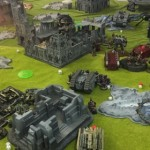 Battle Pictures – Grey Knights and Black Harlequins vs Chaos and Imperial Forces