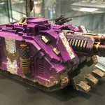 Warhammer 40,000 Vehicle – Golden Demon 2017