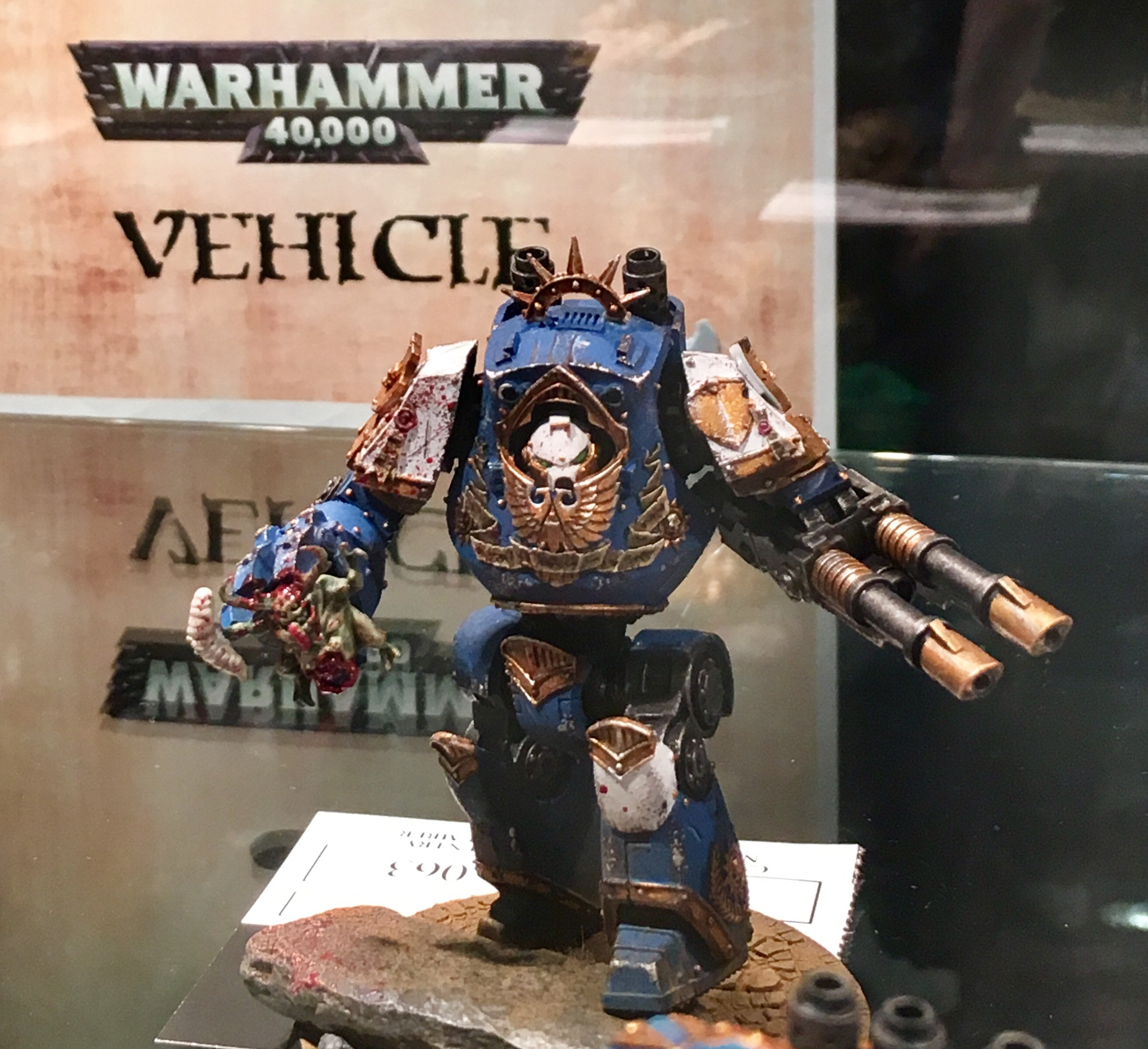 Ultramarine Contemptor Dreadnought