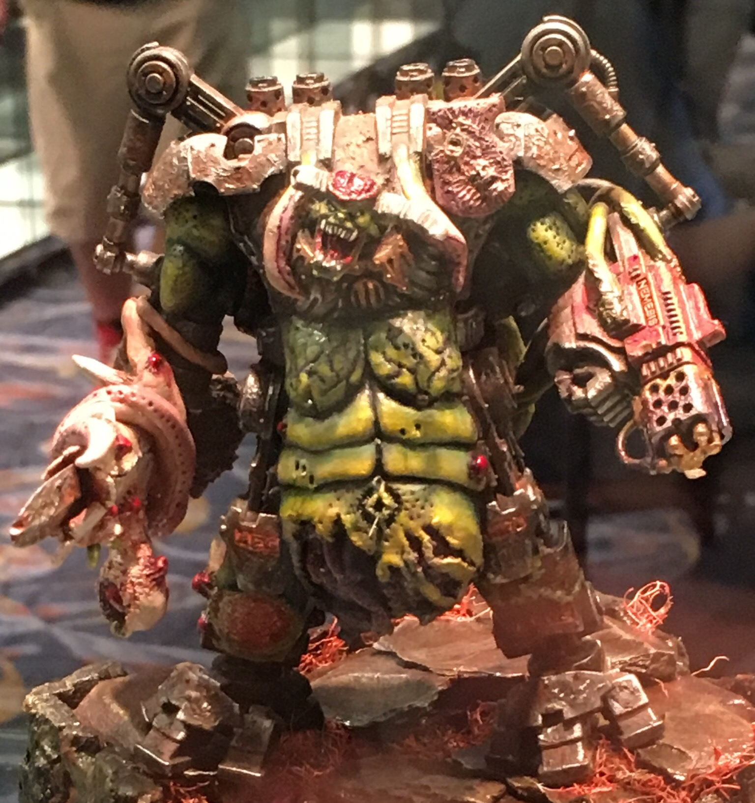 Nurgle Demon Engine - Dreadknight conversion