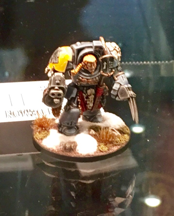 Wolf Guard Golden Demon 2017