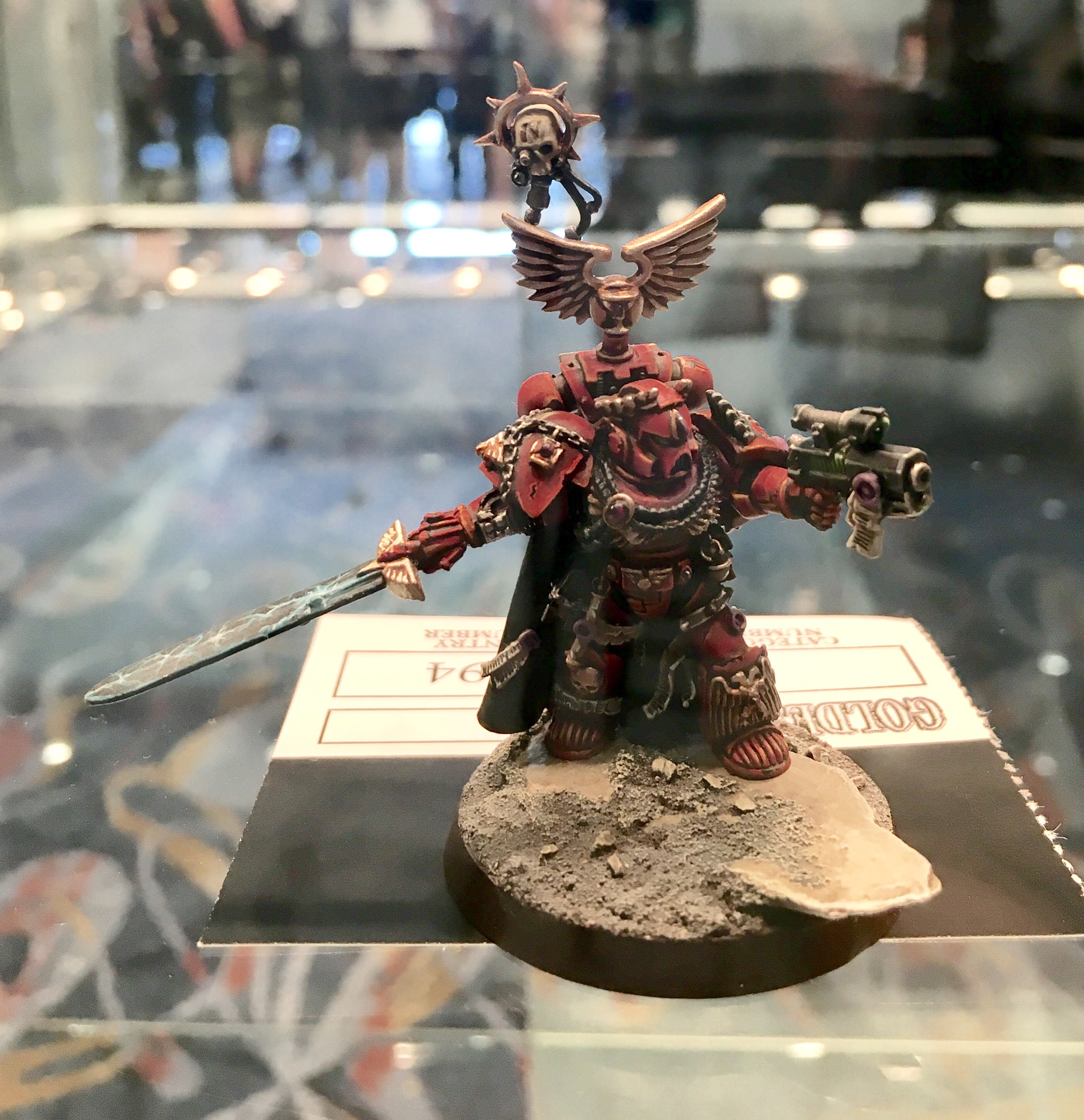 Blood Angel Captain Golden Demon 2017