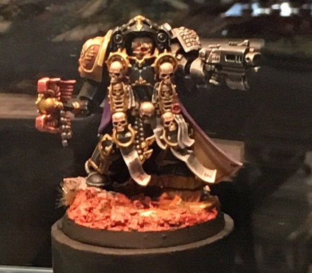 Space Marine Limited Edition Terminator Chaplain