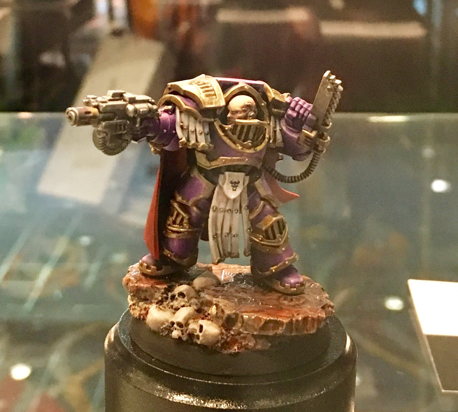 Geanstealer Magus and Lunor Wolves Chaplain Golden Demon 2017