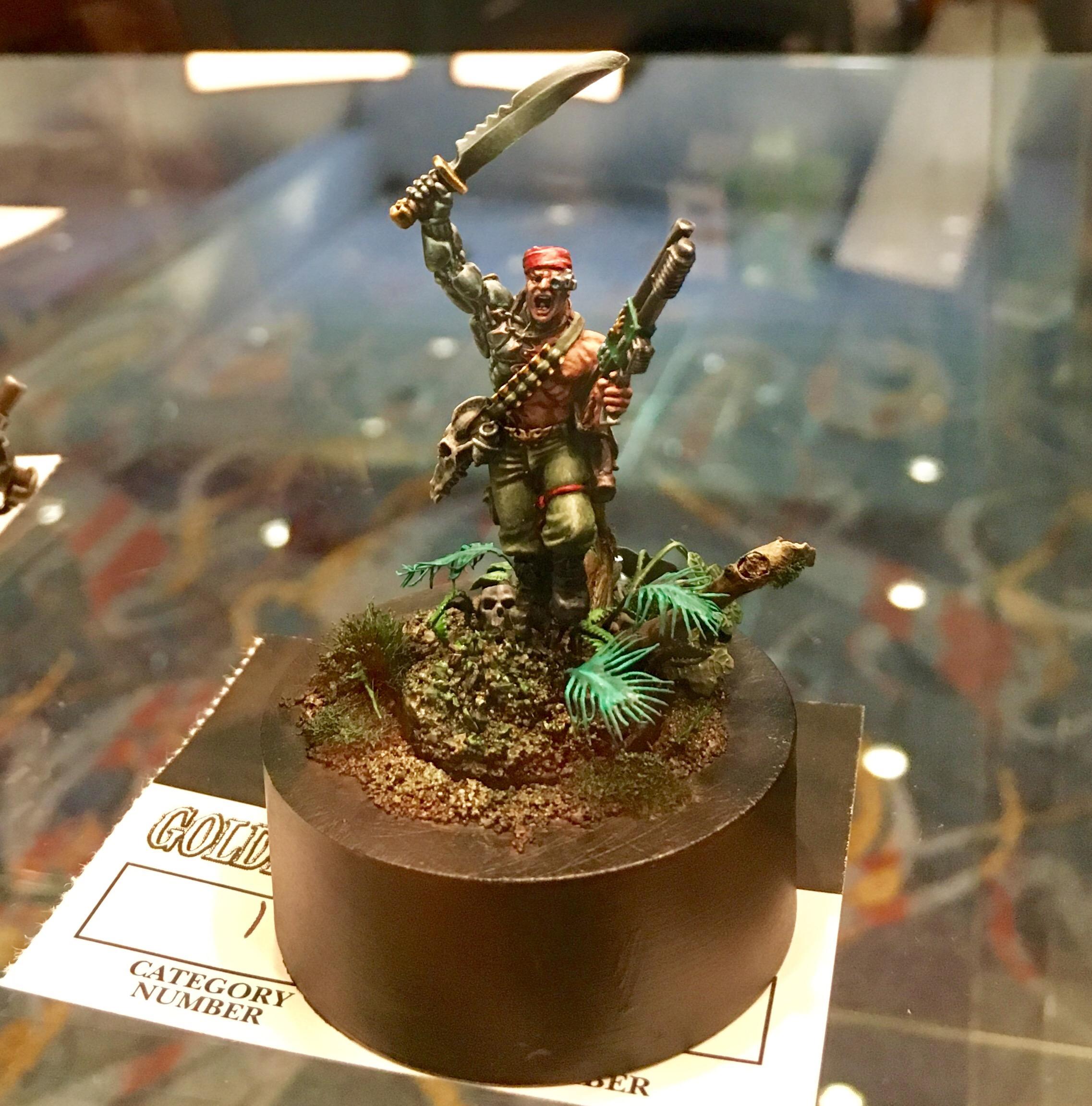 Catachan Jungle Fighter - Colonel 'Iron Hand' Straken