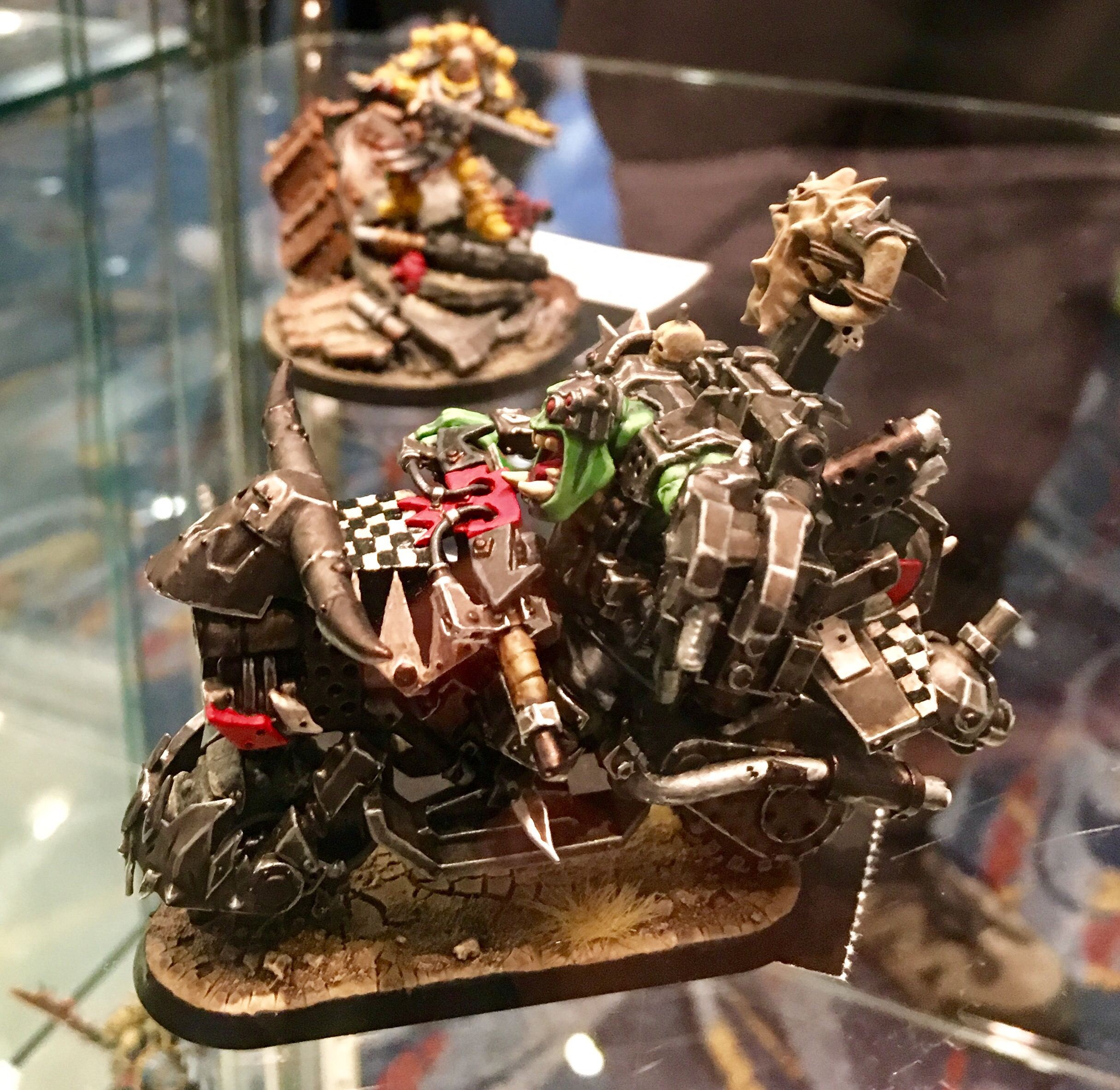 Ork War Bike Golden Demon 2017