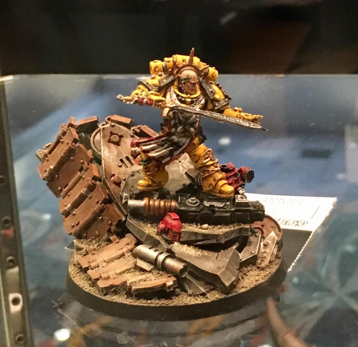 Imperial First Legion Centurion Golden Demon 2017