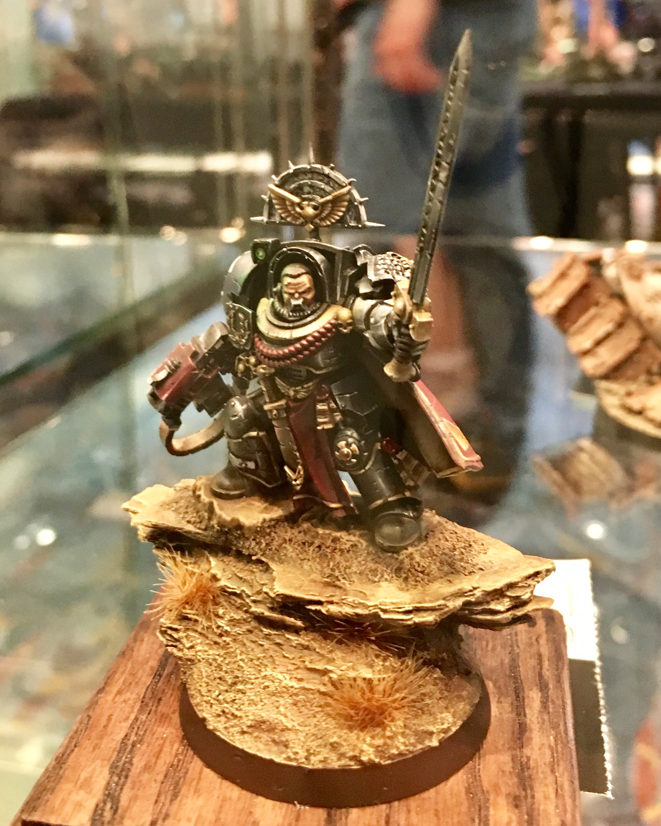 Space Marine Captain Golden Demon 2017