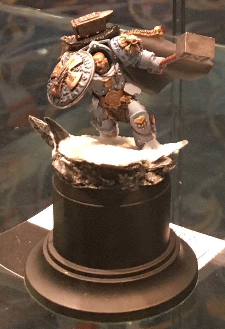 Space Wolf  Arjac Rock Fist conversion